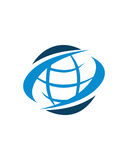 Zusammenfassungs-Betriebsversicherungszusammenfassung des globalen Geschäfts lizenzfreie abbildung