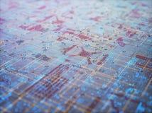 Zusammenfassungs-Hintergrund der Struktur-3D Lizenzfreie Stockfotos