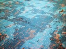 Zusammenfassungs-Hintergrund der Struktur-3D Lizenzfreies Stockfoto