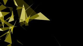 Zusammenfassungs-moderner polygonaler geometrischer Dreieck-Hintergrund stock abbildung