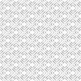 Zusammenfassungs-silbrige geometrische nahtlose Quadrate kopieren im weißen Hintergrund lizenzfreie abbildung