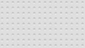 Zusammenfassungshintergrund der Illustration 3d mit einer Wand mit Grübchen lizenzfreie abbildung