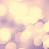 Zusammenfassungshintergrund des weichen Lichtes Defocused funkelnde Lichter Bokeh Lizenzfreies Stockbild