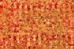 Zusammenfassungsschnittfragmente der appetitanregenden Pizza Lizenzfreie Stockbilder