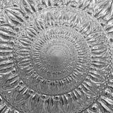 Zusammenfassungsspirale Fractal-Musterhintergrund der silbernen Folie Metall Blumenmuster Lattin Metallischer Papierspiralenhinte stock abbildung