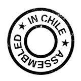 Zusammengebaut in Chile-Stempel Stockfotografie