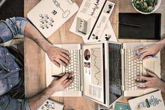 Zusammengesetztes Bild der Ideen- und Innovationsgraphik Lizenzfreie Stockfotos