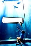 Zusammengesetztes Bild der Spracheblase Stockbilder