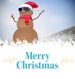 Zusammengesetztes Bild der Weihnachtskarte Stockfotos