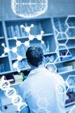 Zusammengesetztes Bild der Wissenschaftsgraphik Lizenzfreies Stockfoto