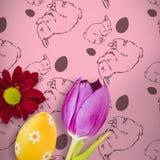 Zusammengesetztes Bild des Bildes einer Blume Lizenzfreie Stockfotos