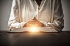 Zusammengesetztes Bild des hellen Flecks eines Aufflackerns Lizenzfreies Stockfoto