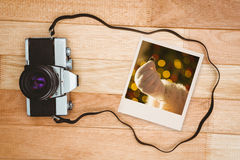 Zusammengesetztes Bild des sofortigen Fotos Lizenzfreies Stockfoto