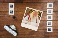 Zusammengesetztes Bild des sofortigen Fotos Lizenzfreies Stockbild