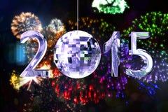 Zusammengesetztes Bild von 2015 Lizenzfreie Stockfotos