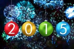 Zusammengesetztes Bild von 2015 Lizenzfreie Stockbilder