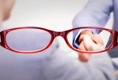 Zusammengesetztes Bild von Gläsern Stockbilder