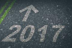 Zusammengesetztes Bild von guten Rutsch ins Neue Jahr 2017 Lizenzfreie Stockfotografie