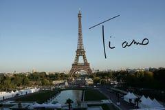 Zusammengesetztes Bild von Tiamo Lizenzfreies Stockfoto