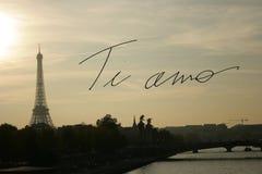 Zusammengesetztes Bild von Tiamo Lizenzfreie Stockfotografie