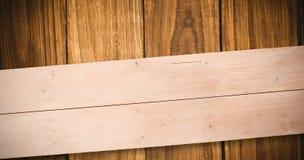 Zusammengesetztes Bild von Unkosten von hölzernen Planken vektor abbildung