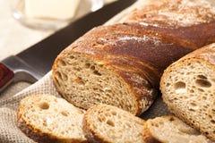 Zusammensetzung des Brotes Stockbild