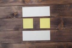 Zusammensetzung des Papiers Stockfotos