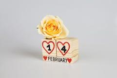Zusammensetzung des Valentinsgrußes s Tages Stockfotografie