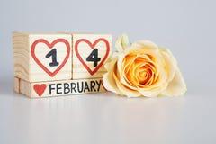 Zusammensetzung des Valentinsgrußes s Tages Lizenzfreies Stockfoto