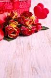 Zusammensetzung für Valentinstag Stockfotos