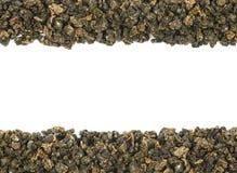 Zusammensetzung grünen Tees Copyspace Lizenzfreies Stockbild