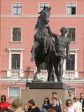 Zusammensetzung mit einem Pferd Lizenzfreies Stockbild