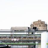 Zusammensetzung mit grünem Punkt Lizenzfreies Stockfoto