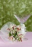 Zusammensetzung von Blumen für die Heirat Stockfotos