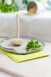 Zusammensetzung von Quinoa Lizenzfreie Stockbilder