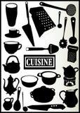 Zusammenstellung der Küchegeräte Lizenzfreies Stockfoto