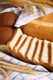 Zusammenstellung des geschmackvollen Brotes Stockfotos