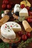 Zusammenstellung des Käses Stockbilder