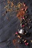 Zusammenstellung des trockenen Tees Lizenzfreie Stockbilder