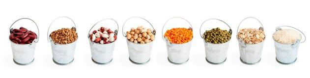 Zusammenstellung von Bohnen, Stockfotos