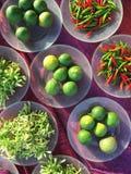 Zusammenstellung von Veggies Lizenzfreies Stockbild