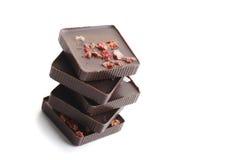 Zusammenstellungs-Schokoladenpralinen Stockfoto