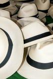 Zusatz - Panama-Hüte lizenzfreie stockfotos