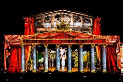 Zustand akademische Bolshoi-Theater-Oper und Ballett Stockfoto
