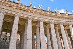 Zustand der Vatikanstadt Stockbild
