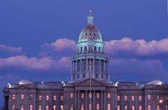 Zustand-Kapitol-Gebäude, Denver, Co Stockbilder