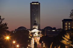 Zustand-Kapitol-Gebäude in Tallahassee Stockbild