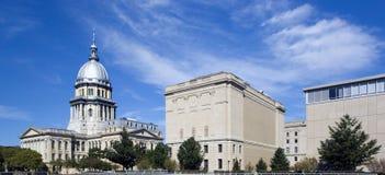 Zustand-Kapitol von Illinois Lizenzfreie Stockfotografie