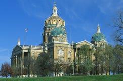 Zustand-Kapitol von Iowa Stockfotografie
