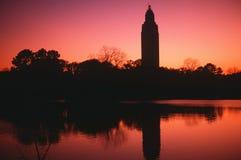 Zustand-Kapitol von Louisiana Stockfotos